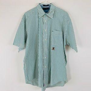 Tommy Hilfiger Golf Mens Button Down Shirt XL